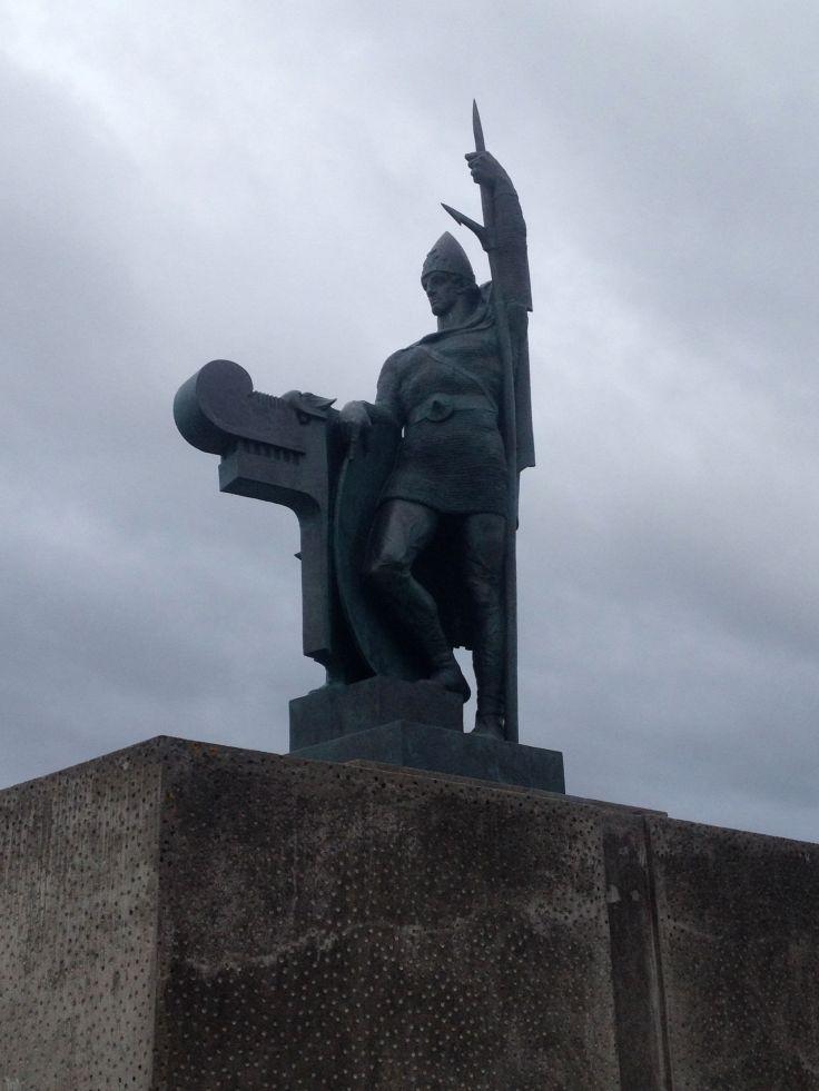 Ingólfur Arnarson, the first settler in Reykjavík